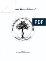 Orthopaedic Device Reference