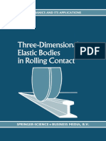 Three-Dimensional Elastic Bodies in Rolling Contact