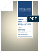 MKT5000-MarketingManagementPhilosophies-0061080261