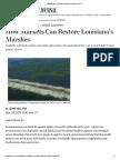 How Markets Can Restore Louisiana¹s Marshes - WSJ[11]