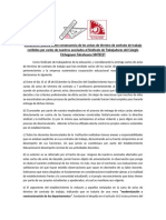Declaracion Publica