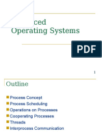 Adv OS Process Management