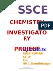 123447504 Chemistry Investigatory Project