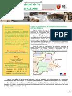 Bulletin Municipal de la commune d'Allons N°4