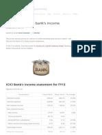 Understanding a Bank's Income Statement - CAPITAL ORBIT