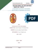 Universidad Nacional de San Antonio Abad Del Cusco Geormofo