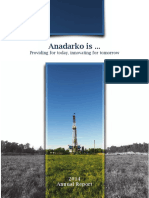 Anadarko 2014 Annual Report