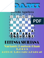 (UPLOADED)79. Defensa Siciliana. Variante Paulsen-Khan