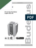 Buderus G215 User Manual