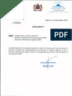 Circulaire Catégorisation Commune ADII-DGI