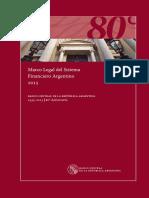 BCRA- Marco Legal Del Sistema Financiero 2015