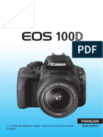 EOS 100D Instruction Manual FR