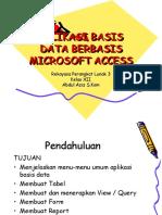 Ppt-Aplikasi Basis Data Berbasis Microsoft Access