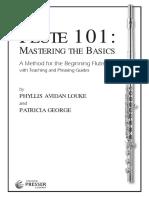 Flute 101 - Mastering the Basics