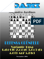 (UPLOADED)31- Defensa Grünfeld. Variante Rusa