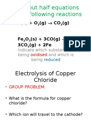Electrolysis of Copper Chloride!