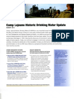 Camp Lejeune Water Contamination Dec 2015 Update