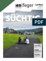 strassenfeger Ausgabe 23-2015 – Suechtig