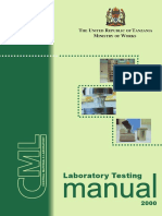 Tanzania_Laboratory Testing Manual (2000)