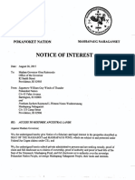 RI Governor - Notice of Interest