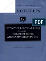 Eric Voegelin History of Political Ideas Vol.I