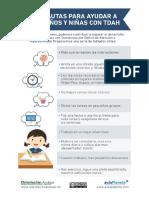 TDAH10 Pautas Para Ayudar a Los Niñas y Niños Con TDAH
