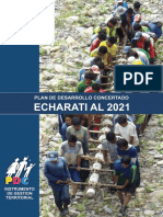 Plan de Desarrollo Concertado Echarati 2021
