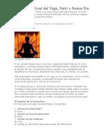 Peligro Espiritual Del Yoga