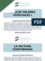 Clase 11 Dr Echaiz Titulos Valores Especiales