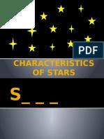 Characteristics of Stars(Report)