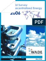 World Survey of Decentralized Energy 2006