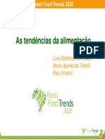 Tendencias Alimentacao Food Trends 2020
