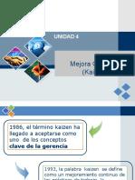1. UNIDAD 4 FCA0 Generalidades Kaizen (1)