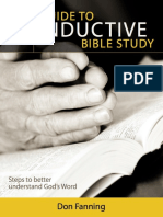 Guide to Inductive Bible Study - Don Fanning