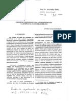O Registro Cartográfico Dos Fatos Geomórficos e a Questão Da Taxonomia Do Relevo. Prof. Jurandyr Ross