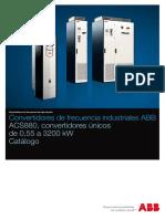 ES ACS880 Single Drives Catalog 3AUA0000118093 RevJ