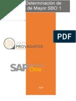 Determinación de Cuentas SAP Business One 9.1