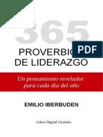365 Proverbios de Liderazgo - Un pensamiento revelador para cada día del año