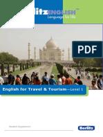 Tourism English a Level 1