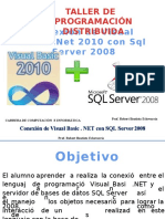 Conexion SQL Server Visual Studio 2010