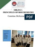 carnitine deficiency case