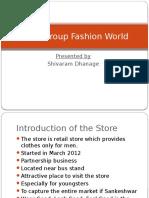 Shiva Group Fashion World