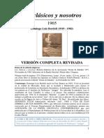 Bordoli, Domingo Luis - Los Clásicos y Nosotros