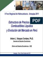 Estrutura de Precios de Combustibles Liquidos y de GLP- Evolucion Del Mercado