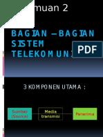 2. Bagian-bagian Komunikasi
