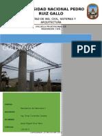 Trabajo de Columnas Resistencia de Materiales II (word)