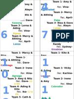 Schedule Ng MR- TD