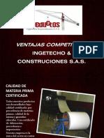 Ventajas Competitivas Ingetecho & Construciones s.a.s.-2