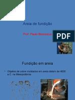 Areia de Fundição