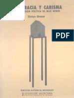 Breuer Stefan - Burocracia Y Carisma - La Sociologia Politica de Max Weber